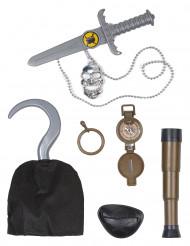 Piraten kapitein accessoire set voor kinderen