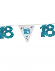 18 jaar glitter verjaardagsslinger