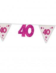 40 jaar verjaardagsslinger