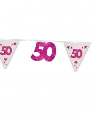 Roze vlaggenlijn 50 jaar