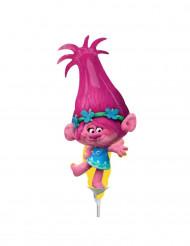 Kleine aluminium Poppy Trolls™ ballon