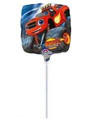 Aluminium ballon van Blaze en de Monsterwielen
