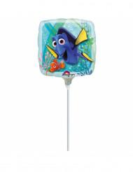 Opgeblazen vierkant Finding Dory™ folie ballon