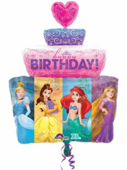 Aluminium verjaardagsballon princesses Disney™