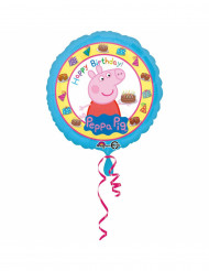 Peppa Pig™ Happy birthday ballon