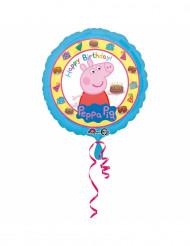 Peppa Pig™ Happy birthday ballon