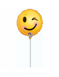 Knipoog emoticon ballon