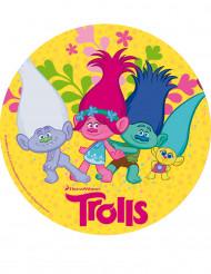 Trolls™ taart suikerschijf