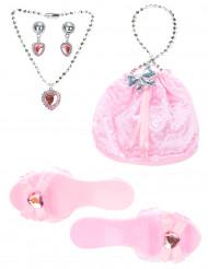 Roze prinsessen set voor meisjes