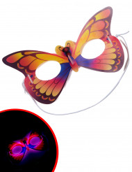 Fosforescerend vlinder masker voor volwassenen