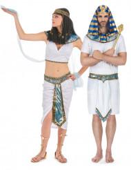 Blauw Egyptisch koppelkostuum voor volwassenen