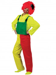 Clown tuinbroek voor volwassenen