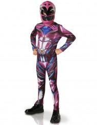 Roze Power Rangers™ outfit voor kinderen