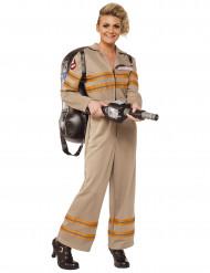 Beige Ghostbusters™ outfit voor vrouwen