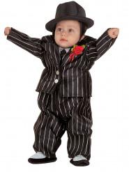 Maffia kostuum voor baby's
