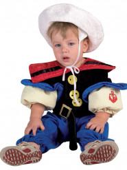 Kostuum gespierde zeeman voor baby's