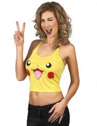 Anime elektrische kat shirt voor vrouwen