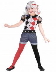 Harlequin kostuum voor meisjes