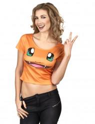 Anime vuurdraak shirt voor vrouwen