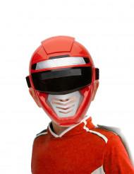 Rood power robot masker voor kinderen