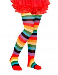 Veelkleurige panty voor kinderen