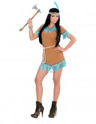Korte indianenjurk voor vrouwen