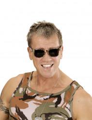 Camouflage bril voor volwassenen