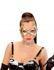 Punk masker met spijkers voor vrouwen