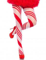 Rood met witte spandex legging voor vrouwen