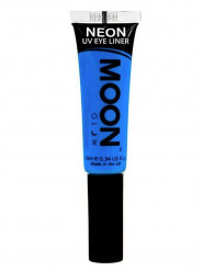 Fluo blauwe UV eyeliner Moonglow©