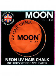 Oranje UV haarpoeder Moonglow©