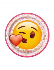 Kleine kartonnen Emoji™ bordjes