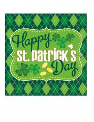16 St Patrick servetten