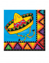 20 Papieren servetten Mexico