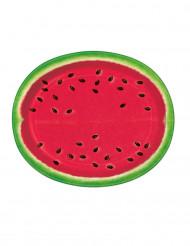 8 grote watermeloen borden