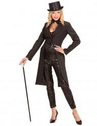 Zwarte slipjas voor vrouwen