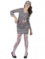 Zombie gevangene kostuum voor vrouwen