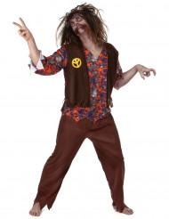 Hippie zombie kostuum voor mannen