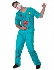Bloederige dokter kostuum voor mannen