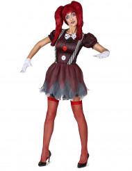 Horror pop kostuum voor vrouwen