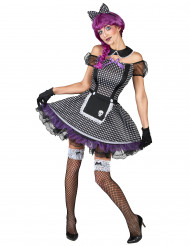 Gothic poppenkostuum voor vrouwen