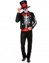 Día de los Muertos skelet outfit voor mannen