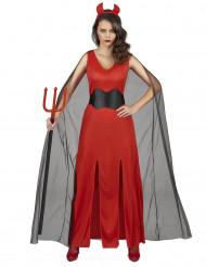Duivelse jurk kostuum voor vrouwen