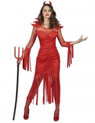 Vuurduivel kostuum voor vrouwen
