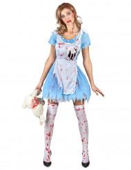 Bloederig Alice kostuum voor vrouwen