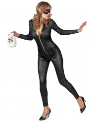 Sexy gemaskerde dief kostuum voor vrouwen