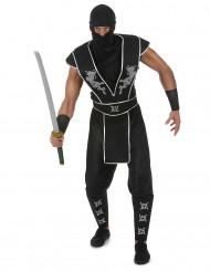 Ninja shuriken kostuum voor mannen