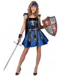 Leeuwen ridder kostuum voor vrouwen