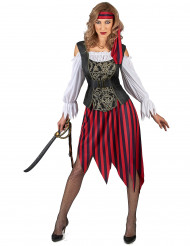 Zigeuner piraten kostuum voor vrouwen