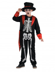 Chique skelet kostuum voor jongens